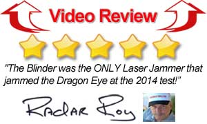 Blinder Laser Jammer Review Video