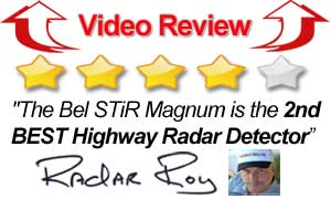 Video Review Beltronics STiR Magnum Radar Detector