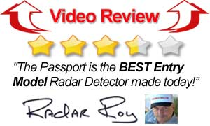Video Review Passport Radar Detector