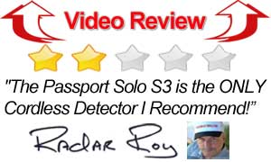 Video Review of the Solo S3 Radar Detector