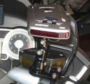 BMW Motorcycle Control Mount