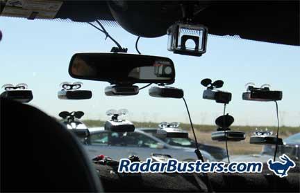 Valentine Radar Jammer >> Radar Detector and Laser Jammer Shootout Overview
