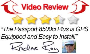 Video Review Escort 8500ci Plus Radar Detector