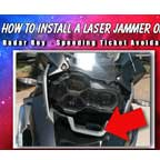How to Install a Laser Jammer on a Motorcycle