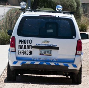 Photo Radar Van