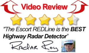 Video Review Escort Redline Radar Detector