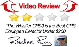Video Review Whistler CR90 Radar Detector