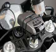 Motorcycle ForkTube Radar Detector Mount