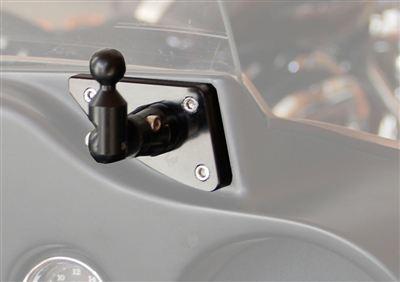 Police Radar Jammer >> Harley-Davidson Bat Wing Fairing Mount- Save 10%