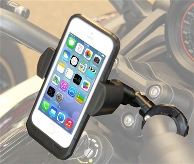 Police Radar Jammer >> Motorcycle Handlebar Cell Phone Mount with Extension ...