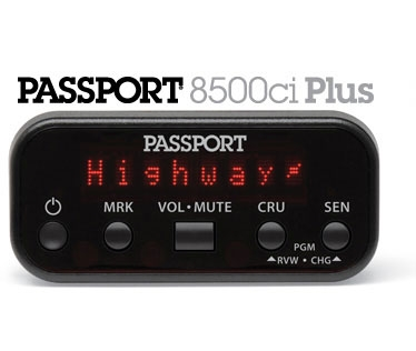Passport Radar Detector >> Escort 8500ci Plus